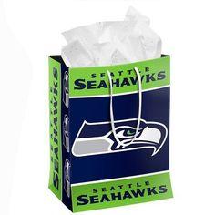 Seattle Seahawks Official NFL Medium Gift Bag