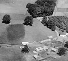Hospital Farm, the Brighton County Borough Psychiatric Hospital and the town, Haywards Heath, from the south-east, 1932 | Britain from Above