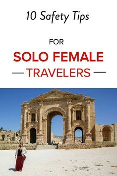 TOP 10 safety tips for solo female travelers