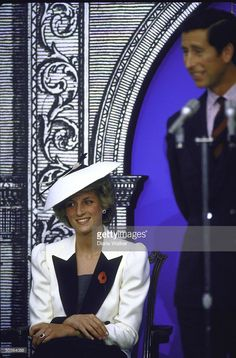 Prince Charles and Princess Diana at National Gallery of Art.