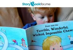 """$19 for a A Personalised Children's Storybook, """"The Terrible Wonderful, Wicked, Impossible Chase"""" incl. Nationwide Delivery"""