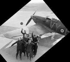Hurricane in France during the Phony War