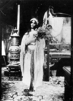 Studio, Models and Staged Photography of Alphonse Mucha