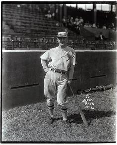 Frankie Frisch, St. Louis Cardinals infielder at Sportsman's Park. 1928