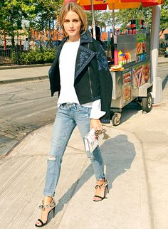Jacket.  Olivia Palermo & More Of Your Favorite Stars Hit The Streets! - Us Weekly