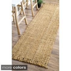 Shop for nuLOOM Handmade Eco Natural Fiber Chunky Loop Jute Runner (2'6 x 10') and more for everyday discount prices at Overstock.com - Your Online Home Decor Store!