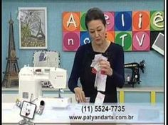 Edição sem comercial da Vídeo aula da Artesã Patrícia Washington ensinando técnicas básicas de patchwork: http://www.atelienatv.com.br/