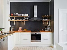 L Shaped Minimalist Modern Kitchen Decoration Knowing Decoration Modern Minimalist Kitchens Before Apply Some Decorations At Your Kitchen Kitchen design http://seekayem.com