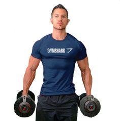 2016 Gymshark cotton camisetas camisa masculina hombre t shirt Bodybuilding and fitness shirt men Muscle men's sportswear