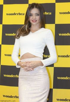 Miranda Kerr at Wonderbra photosession in Seoul (October 2014). #mirandakerr
