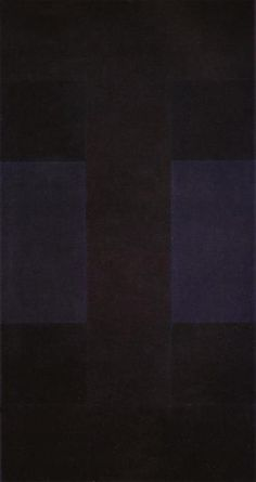 Ad Reinhardt, Black on Black, 1956