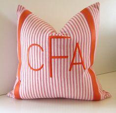 Decorative Pillow 16  18  20 inch Fuchsia Pink  by studiotullia