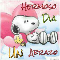 Pin by greta ayala on snoppy Good Morning Snoopy, Good Morning Greetings, Good Morning Good Night, Good Morning Quotes, Spanish Greetings, Snoopy Quotes, Baseball Pictures, Happy Wishes, Happy B Day
