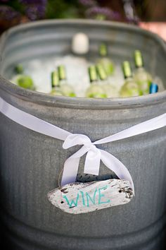 Can use as decor and wine storage outside