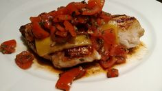 Chicken bruchetta with balsamico