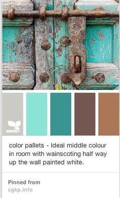 Guest Room Color Palette