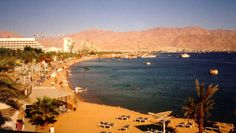 Eilat, Isreal.  In 1998, I visited this tourist attraction on the Red Sea.  I was on a R from Egypt at the time.  Oh how I enjoyed my Infantry days.