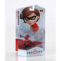 Unveil the super powers of this Mrs. Incredible figure to add sticky, super-stretching fun to your character abilities - her adhesive expertise lets her whip across town, yank objects closer and swing