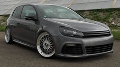 We simply can't get enough of this #Volkswagen #Golf #GTI tuned by #TVWCarDesign! It's just SO BEAUTIFUL! #TunedTuesday #VDubLove
