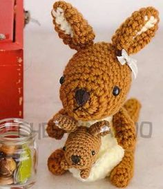 Crochet doll amigurumi PDF pattern  Mini Mama by cheerymarjo, $3.00