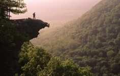 Amazing view from Whitaker Point in the Buffalo National River Wilderness.  (Chuck Haralson)