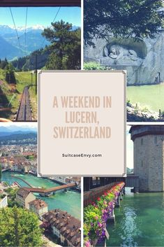 Luzern Best Of Switzerland, Switzerland Vacation, Lucerne Switzerland, Four Corners Monument, Central Europe, Weekend Trips, Adventure Is Out There, Trip Planning, Places To See