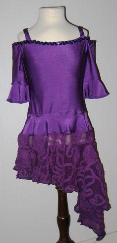 Dans kjole latin - Dance dress latin girl