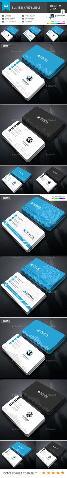 Business Card Bundle - Corporate Business Cards                                                                                                                                                                                 More