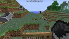Newton's Three Laws of Motion using Mine Craft