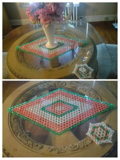 Beads mat with coaster sets & Beads coaster sets   beads mats   Pinterest   Coaster set and Beads