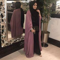 Muslim Fashion 488781365810462402 - Source by Roufaiida Islamic Fashion, Muslim Fashion, Modest Fashion, Fashion Outfits, Fashion Tips, Hijab Dress, Hijab Outfit, Estilo Abaya, Mode Kimono