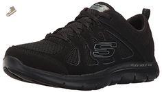 Skechers Sport Women's Flex Appeal 2.0 Simplistic Fashion Sneaker, Black, 8.5 C US - Skechers sneakers for women (*Amazon Partner-Link)