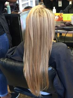 blonde all over highlights 2015 spring