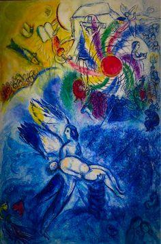 Marc Chagall, La naissance de l'homme on ArtStack #marc-chagall #art