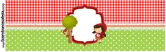Red Riding Hood Party, Free Printables, Banner, Birthday, Baby, Love Rain, Holiday, 4 Years, Boxes