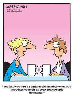 SparkPeople humor! - Hi !!! I'm PattiP2011 :-)