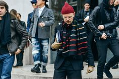 The Enthusiastic Men of Fashion Week - Man Repeller