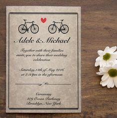 Items similar to Digital Wedding Invitation / Digital Bicycle Invitation / Rustic Wedding Invitation on Etsy Event Planning Business, Wedding Planning, Wedding Ideas, Business Pictures, Event Logo, Business Inspiration, Celebrity Weddings, Rustic Wedding, Wedding Invitations