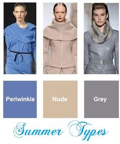 Color trends fall / winter 2012-2013  for Summer types