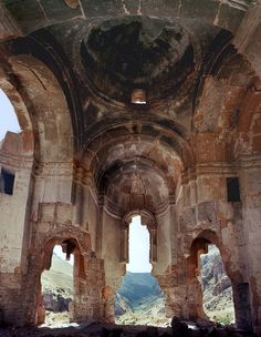 sisterspock:    inside Saint Sargis Church