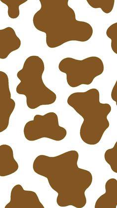 Cow Wallpaper, Hype Wallpaper, Iphone Wallpaper Tumblr Aesthetic, Cute Patterns Wallpaper, Iphone Background Wallpaper, Pastel Wallpaper, Aesthetic Wallpapers, Cow Print, Animal Print Rug