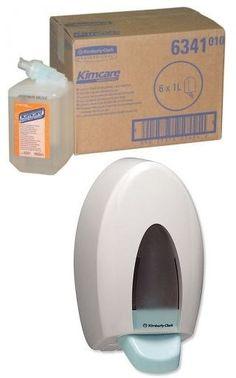 Comanda un bax de sapun spuma profesional Kimberly-Clark 6341 si primesti cadou dispenserul compatibil!