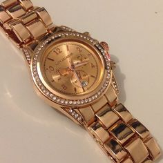 MK WATCH Stainless Steel  Michael Kors Blair watch  New without box Price is firm. PRICE REFLECTS AUTHENTICITY.  ✨✨✨✨ (Rose Gold) Accessories Watches