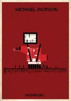 Michael Jackson style. Architecture    Archimusic.