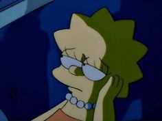 Image about sad in the simpsons monologue // ☁️🔪 by ViolentMeadows Lisa Simpson, Simpson Wave, Bart Simpson Tumblr, Simpson Wallpaper Iphone, Sad Wallpaper, Cartoon Profile Pictures, Cartoon Icons, Sad Girl, Love Memes