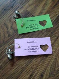 Hochzeit Klingeln für die Trauung
