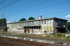 Nidzica – Dworzec kolejowy w ruinie
