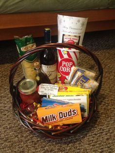 Summer picnic themed gift basket | My Creations | Pinterest ...