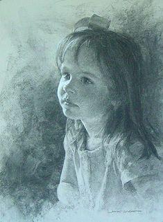 pippa.jpg (440×600) McCartin. Charcoal. So beautiful.: