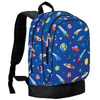 Outer Space Rocket Ship Backpack